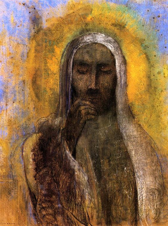 Christ in Silence by Odilon Redon
