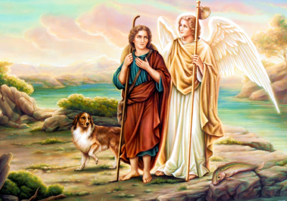 Image result for SAINT RAPHAEL PROTECTING